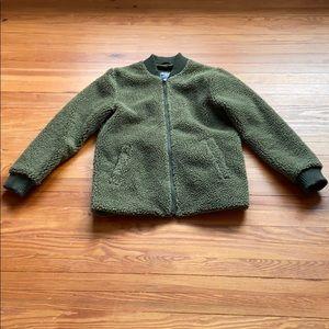 Abercrombie & Fitch Fleece Jacket